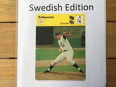 Tom Seaver, Nets,Baseball, Editions Rencontre, Sportscaster, Schwedisch, swedish