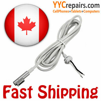 """60W DC Cable Repair Cord Magsafe1 """"L-Tip"""" for Macbook Air Pro AC Adapter Charger"""