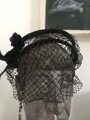 Vintage Headpiece Fascinator 60s