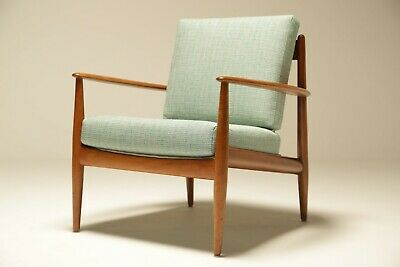 Vintage Lounge chair by Grete Jalk for France & Daverkosen mid-century Danish