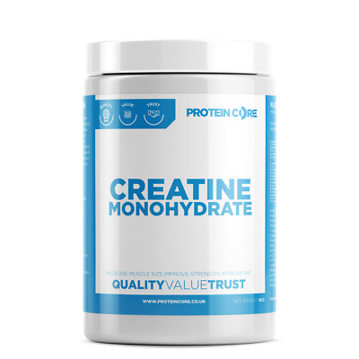 Creatine Monohydrate Powder 1KG Bodybuilding Build Muscle Fast Shake Gym Fitness