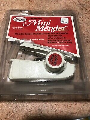 Mini Mender Vintage 70s or 80s Hand Sewer Kit New in Box