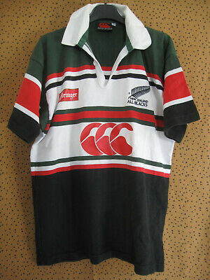 Maillot rugby All Blacks Canterbury New Zealand Vintage Coton - M