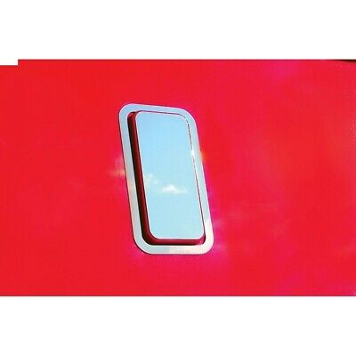 Stainless Kenworth T700 Bunk Vent Cover Trim Kit