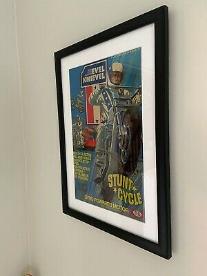 Evel Knievel Stunt Cycle Poster Print, Ideal
