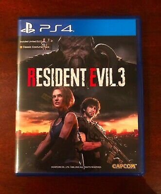 Resident Evil 3 Remake Ps4 Versione Asia/Usa [No Italiano]