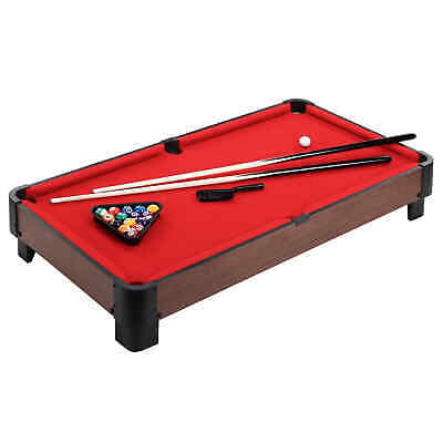 40-in Table Top Pool Table - Red