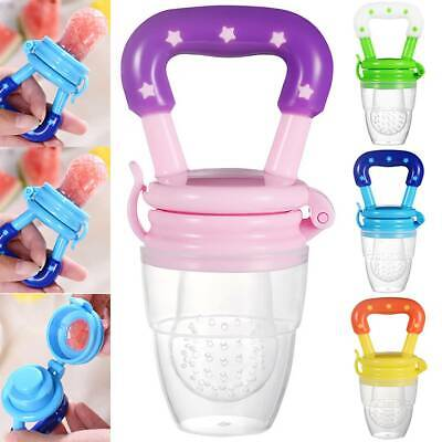 Baby Feeding Dummy Nibbles Weaning Nutrition Pacifier Fresh Fruit Food Teether