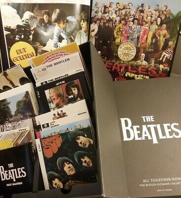 The Beatles Box of Vision All Together Now Ultimate Collection CD 16-Discs +Book