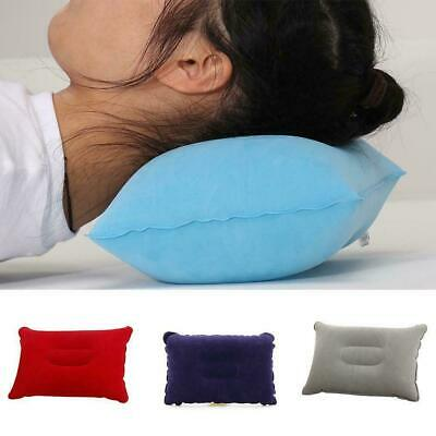 Portable Comfortable Small Inflatable Travel Pillow Pillow Camping Outdoor D1Q4