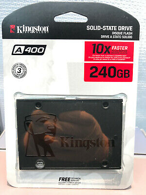 Kingston A400 240GB  SSD SATA  Solid State Drive 2.5 inch