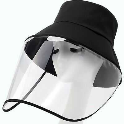 full face cover Anti Spitting Saliva Splash Face Protect cap Shield Visor hats