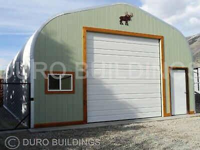 DuroSPAN Steel 30x48x15 Metal Building Shop DIY Garage Open Ends Factory DiRECT