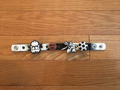 Crocs Star Wars Sports Shoe Charms Logos Pendants & Crocs Wrist Band 4 Charms *