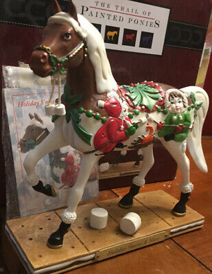 HOLIDAY S'MORES&MORE,Trail Of Painted Ponies, 1E 5697,NEW Resin Figurine,Box,Tag