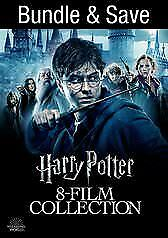 Harry Potter Complete 8-Film Collection digital HD chamber secrets goblet fire