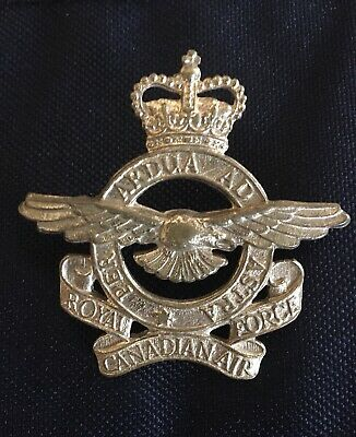 Royal Canadian Air Force. RCAF. Brass Hat Badge.