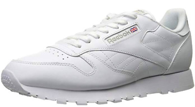 Reebok Mens Shoes Classic 9771 Light Running Atletic Tennis White Leather SZ 9