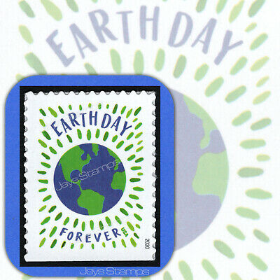 2020  EARTH DAY  Genuine  USPS  Forever®  Individual  MINT Booklet Stamp  # 5459