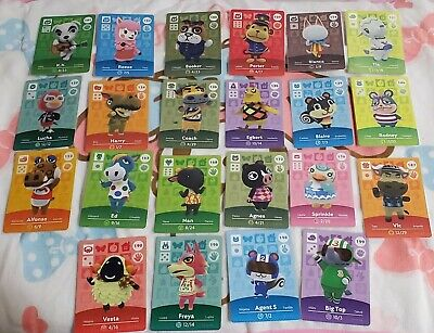 Nintendo Animal Crossing Series 2 Amiibo Cards New Leaf Pick from List