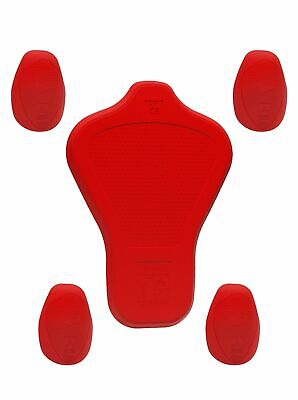 John Doe Protektoren Protectors Set Men Top ( S, E Level 1/Back Level 2) Red