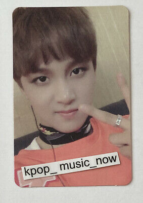 WINWIN OFFICIAL ALBUM PHOTOCARD NCT127 Dream Wayv Superm U Fire Truck 1st Mini