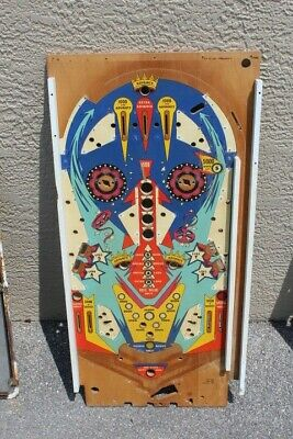 Chicago Coin HOLLYWOOD PINBALL MACHINE PLAYFIELD - USED