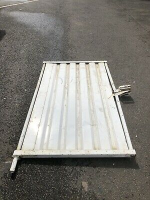 Heras Solid Pannel Temporary Fencing Pedestrian gate - Site security - Used