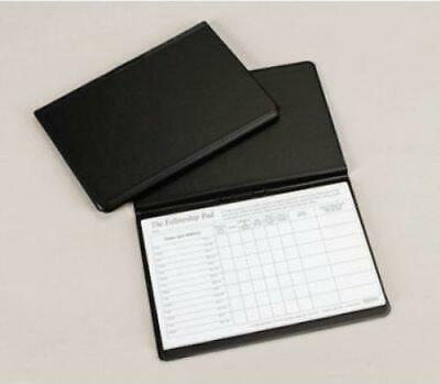 Attendance Pad Fellowship Pad Holder Black