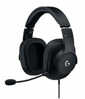 Logitech G Pro Gaming Headset with Pro Grade Mic Noise Isolation Black DI