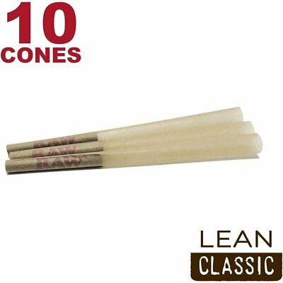 RAW 90 Classic Lean Hemp Cones - Natural Brown Unbleached Rolling Papers