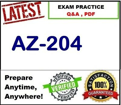 AZ-204 - Developing Solutions for Microsoft Azure - Exam Preparation Q&A