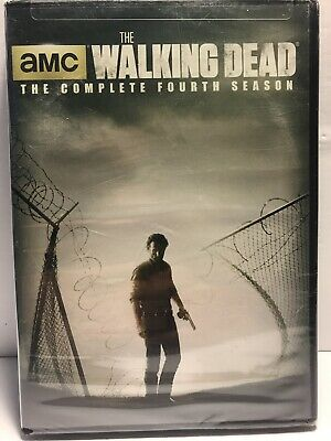 The Walking Dead: The Complete Fourth Season [New 5disc-DVD] Set. Sealed
