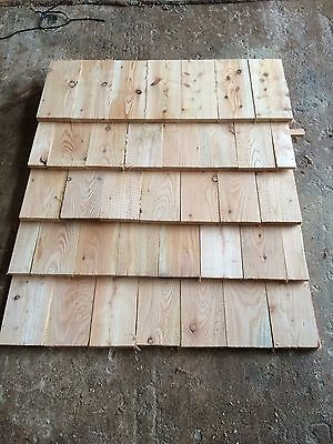 Wooden Shingles walls, roofs, sheds Larch or Douglas fir