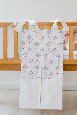Pink Princess Nappy Stacker/Storage For A Girl. Ideal Baby Shower Gift.