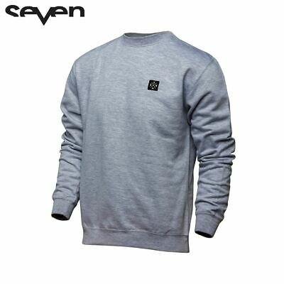 Seven Casual 18.1 Adult Crew Neck (Benchmark Heather Grey)