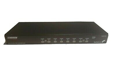 506441 Intellinet 8-Port Rackmount KVM Switch Combo USB + PS//2, On-Screen Display, inklusive Kabel