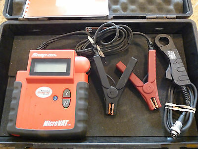 Snap ON Battery Test Micro Vat charging system tester EECS304b1b MICROVAT SNAPON