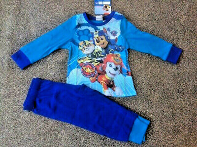 Boys Kids PAW Patrol Pyjamas Size Age 18 Months to 5 Years Official PJ NEW
