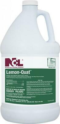 NCL® 0235 Lemon Quat disinfectant, concentrated cleaner, Case of 4 Gallons