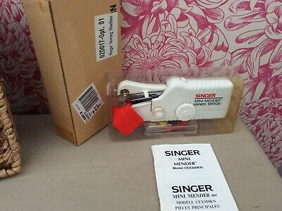 SINGER MINI MENDER, new in box complete with accessories, sewing accs