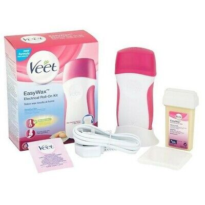 Scaldacera Elettrico  Veet Easywax Kit Roll-On Natural Inspirations