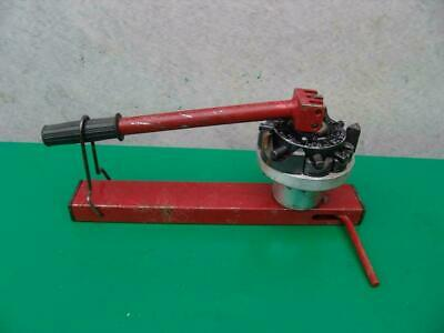 T-Drill Branch Tube End Notcher Dimpler Works Great    #1