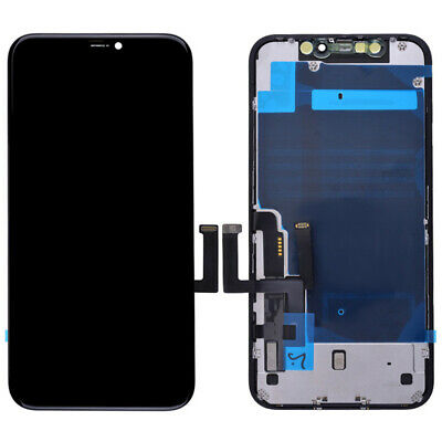 LCD Screen Display Touch Digitizer Frame Assembly Replacement for iPhone 11