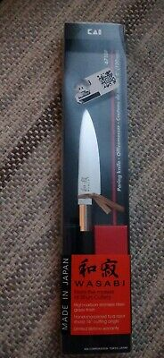 "Kai Wasabi Black 4"" Paring Knife"
