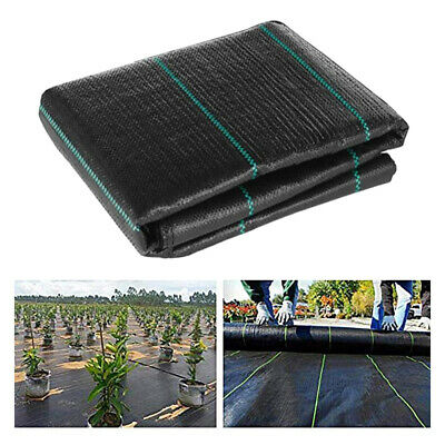 Membrane Landscape Weed Control Fabric Ground Cover Barrier Block Mat 200x50cm
