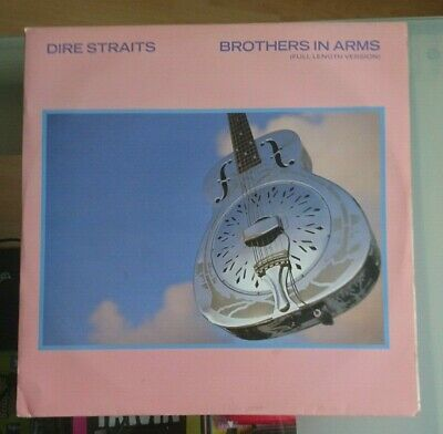 DIRE STRAITS brothers in arms (full length version) 12 INCH EX+/EX, DSTR 1112,
