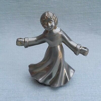 Rare vintage BMF West German pewter figure angel?