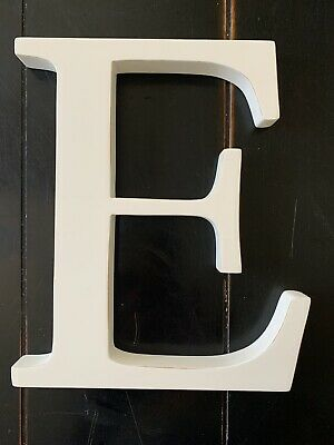 """POTTERY BARN KIDS Wall Letter - 8 inches White Color - Letter """"E"""" ($10)"""