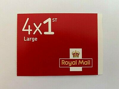 Book of 4 1st Class Large Stamps FREE POSTAGE